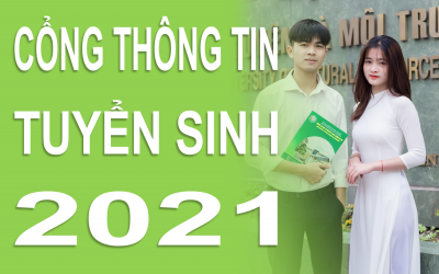 Hướng dẫn công tác tuyển sinh Đại học chính quy năm 2021 tại Trường Đại học Tài nguyên và Môi trường Hà Nội